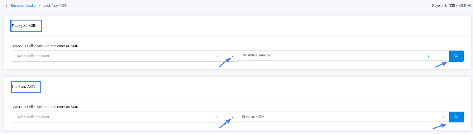 keyword-tracking-track- ASINs