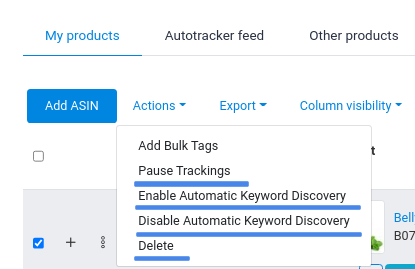 keyword-tracker-Actions
