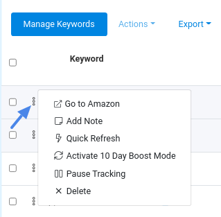 keyword-menu-actions